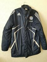 ADIDAS MENS CHELSEA PADDED BLACK JACKET SIZE UK 40/42