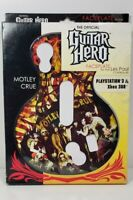 MOTLEY CRUE Guitar Hero Faceplate for Les Paul Playstation3 & XBox 360 Brand New