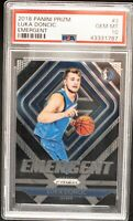 2018 Panini Prizm Luka Doncic #3 EMERGENT GEM MINT PSA 10 RC INVEST NOW HOT!!!!