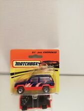 Matchbox  51 JEEP CHEROKEE ON CARD BLISTER 1994