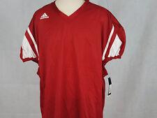 Adidas Mens Stock Football Jersey mesh NWT Red 4XL NWT Climacool