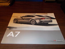 2011 Audi A7 44-Page Deluxe Sales Catalog