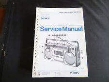 Original Service Manual Philips D 8118