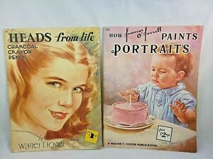 How Frances O'Farrell Paints Portraits Heads from Life Walter Foster Art book