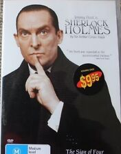 SHERLOCK HOLMES: THE SIGN OF FOUR OOP RARE DELETED REGION 4 PAL DVD JEREMY BRETT