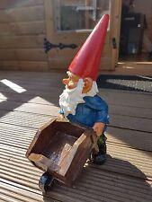 Garden Gnome with Wheelbarrow - Exhart
