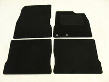 Nissan Note (Oct) 2013-on Fully Tailored Deluxe Car Mats in Black