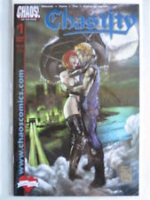Chastity - Love Bites #1 DF Exclusive Blue Foil Cover Ltd. to 500 With COA