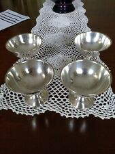 WALLACE Sterling Silver Sherbet bowls #15 Set of Four