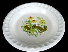 """House Ware Products """"Wildflower"""" 9"""" Pie Baking Plate / Dish"""