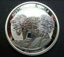 2014 Australian Koala Bear 1 oz Silver Coin BU