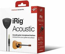 IK Multimedia iRig Acoustic Mobile microphone interface for acoustic guitar