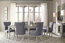 Ashley Coralayne Glitz N Glam 7 Piece Dining Set Furniture D650