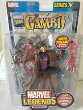 "Marvel Legends Series IV 4 Gambit 6"" Action Figure New In Box NIB"