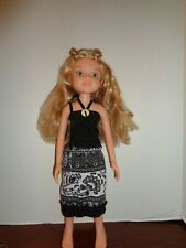 "PRETTY BLACK AND WHITE DRESS OUTFIT FOR 18"" BFC INK DOLLS"