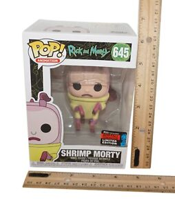 """Shrimp Morty Funko Pop 3.5"""" Toy Vinyl Figure - Fall Exclusive Limited Ed 2019"""