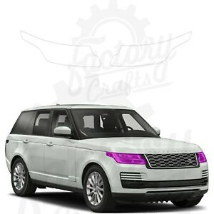 Paint Protection Film Clear PPF for Land Rover Range Rover 12-20 Headlights