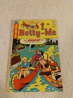 Archie Series Betty And Me Comic Book 1974
