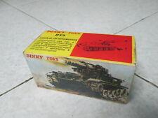 """Dinky Toys Fr 813 """"CANON DE 155 AUTOMOTEUR"""", Boite Vide Repro/ Empty box only"""
