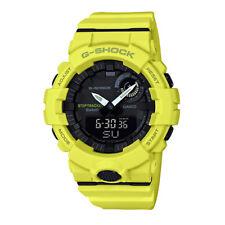 -NEW- Casio G-Shock Yellow Step/Workout Bluetooth Watch GBA800-9A
