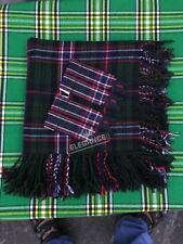 "New Kilt Fly Plaid Scottish National Tartan 48""X48""/Scottish Fly Plaid + Flashes"