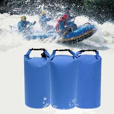 3 Pack Waterproof Dry Bag Sack Backpack for Rafting Boating Kayaking Canoeing