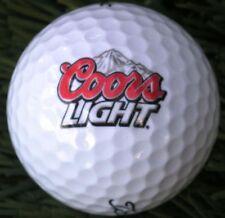 3 Dozen (Coors Light Logo) Titleist Velocity Mint / Aaaaa Golf Balls + Free Tees
