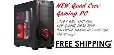 Custom Gaming PC 4.1Ghz 8gb 1TB HD