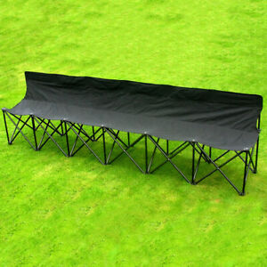 Samba Sports 6-seater Folding Portable Bench Perfect For Any Outdoor Activity
