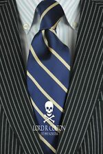 Lord R Colton Studio Tie $95 Retail New Black Copper /& Ice Paisley Necktie