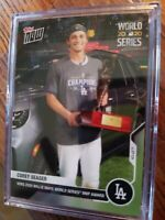 Corey Seager MLB TOPPS NOW Card 483 2020 World Series Willie Mays MVP LA Dodgers