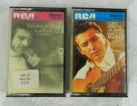 2 Waylon Jennings Cassette Tapes - Cedartown, Georgia - Good Hearted Woman 1972