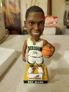 Ray Allen Bobblehead Seattle Supersonics New Condition with Box