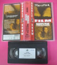 VHS film TWISTER + DANTE'S PEAK la furia della montagna UNIVERSAL (F178) no dvd