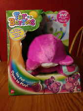 """FUR BERRIES"" PINK TOY WITH FRUITY SCENT INSIDE AND BONUS DVD (NEW IN BOX) 2008"