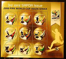 Zambia 2010 SAPOA / Fifa World Cup Mini-Sheet, MNH