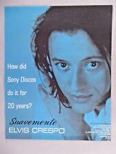 Elvis Crespo PRINT AD - 1999