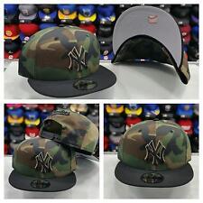 Exclusive New Era MLB New York Yankee 9Fifty Snapback Camoflash Army Green