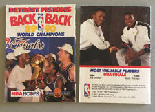 1991 Detroit Pistons 1989-1990 Back to Back Champions Collect-a-Book Not Opened