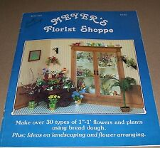 VINTAGE MEYERS FLORAL SHOP IN MINIATURE CRAFT BOOK 1983 BOYNTON HOW TO MAKE