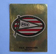 Panini Fussballsticker 1980 P.S.V. Eindhoven  Gold Wappen Fussballbild
