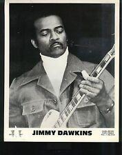 CHICAGO BLUES PUBLICITY PHOTO: JIMMY DAWKINS Leric Music/Isabel Record