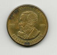 USA Tokens - Benjamin Harrison Presidential Token