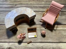 LOL Surprise Doll WORK DESK FURNITURE SET Dolls BUSINESS Chair Light Laptop