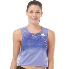 adidas Adizero ClimaCool Running Singlet, Purple, UK 10 EU 36, BNWT, RRP £39.99
