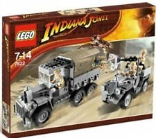 LEGO 7622 - INDIANA JONES - Race for the Stolen Treasure w/ BOX - 2008 - VHTF