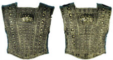Roman Chest Plate 2 Piece Adult Set Armor Antiqued Gold Medieval Halloween