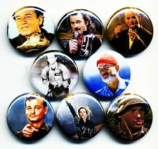 Bill Murray 8 NEW buttons badge pin ghostbusters characters caddyshack