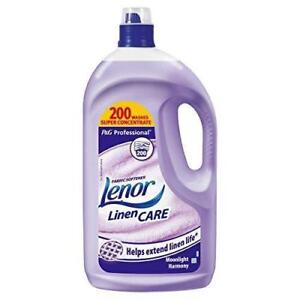 Lenor Linen Care Fabric Softener 4L 200 Washes - Moonlight Harmony