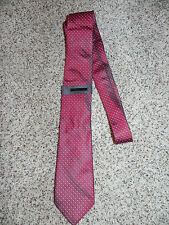 Vince Camuto Tie Red in Color 100% Silk NWT